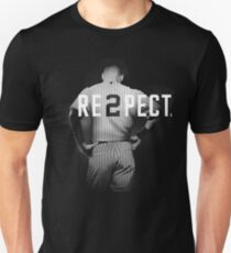 Respect Derek Jeter Re2pect Unisex T-Shirt
