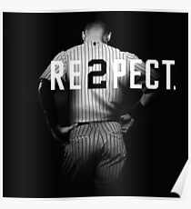 Respect Derek Jeter Re2pect Poster
