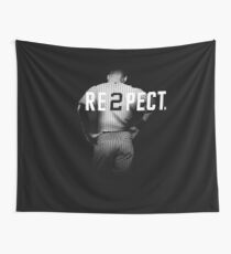 Respect Derek Jeter Re2pect Wall Tapestry
