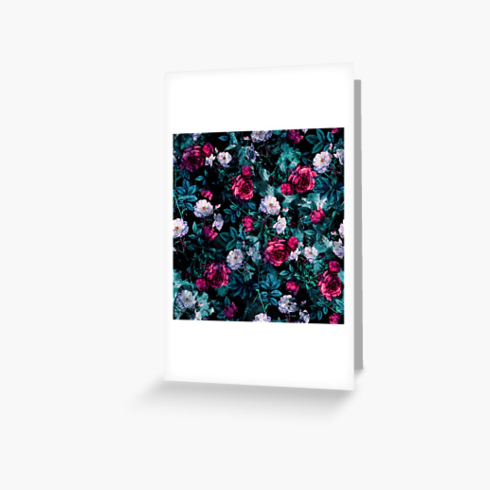 RPE FLORAL ABSTRACT III Greeting Card