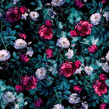RPE FLORAL ABSTRACT III by rizapeker