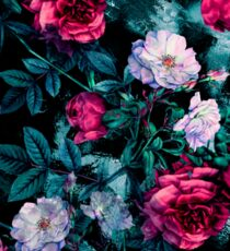 RPE FLORAL ABSTRACT III Sticker