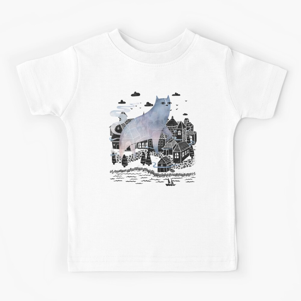 La niebla Camiseta para niños
