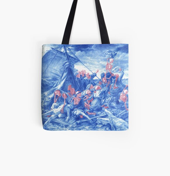 The Raft of the Medusa All Over Print Tote Bag