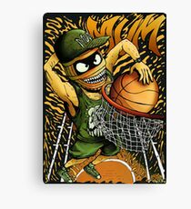Basket Mummy Canvas Print