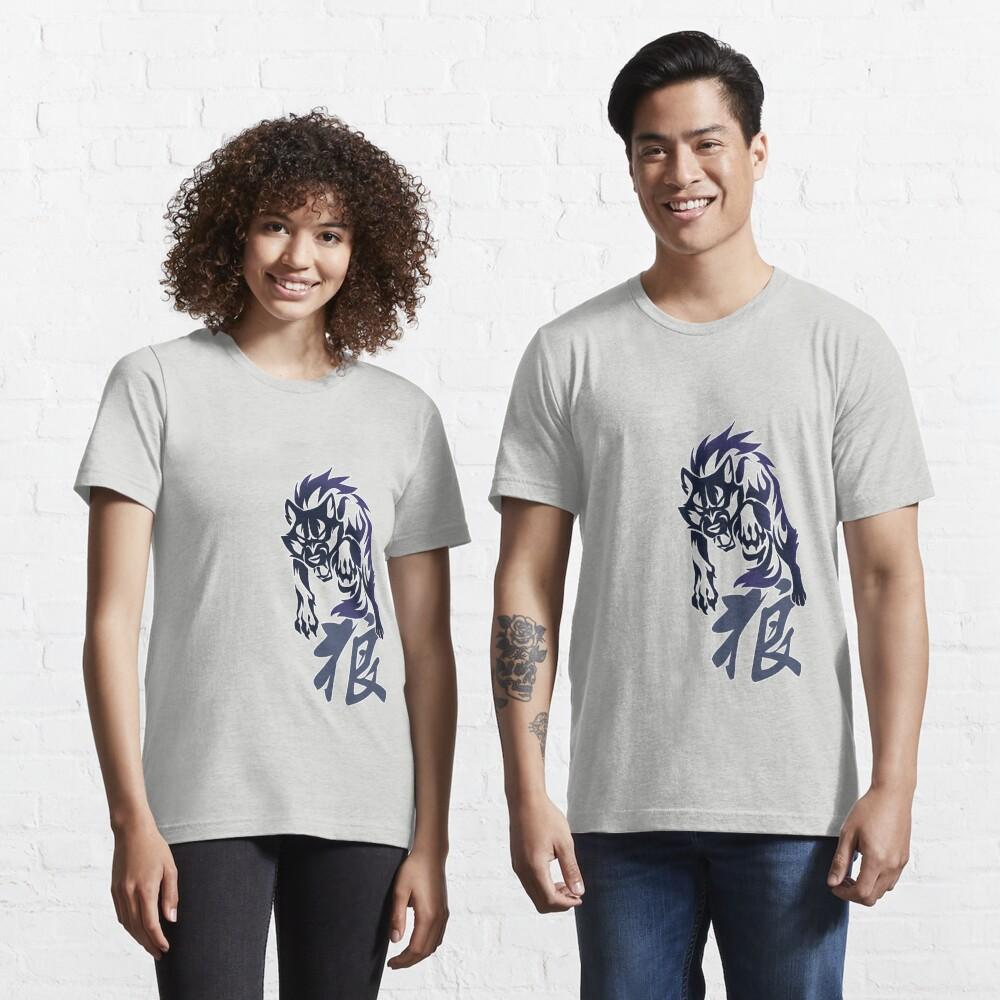 Wolf tribal tattoo Essential T-Shirt