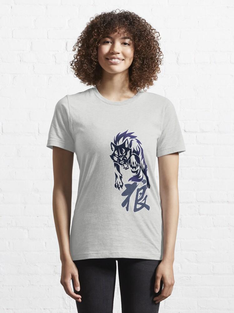 Alternate view of Wolf tribal tattoo Essential T-Shirt