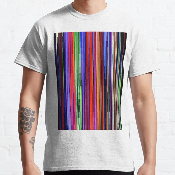 #Pattern, #design, #tracery, #weave, #drawing, #figure, #picture, #illustration Classic T-Shirt
