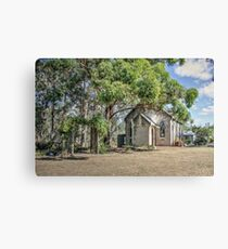 Uniting Church, Luddenham, NSW, Australia Canvas Print