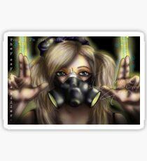 Cyber Goth Killer Sticker