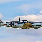 Messerschmitt Bf109G-4 D-FWME Rote Sieben by Colin Smedley