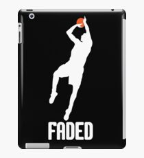 Faded - White iPad Case/Skin