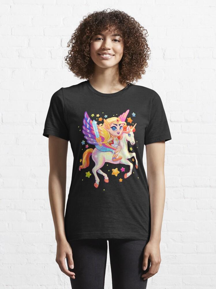 Alternate view of Princess of Power Essential T-Shirt