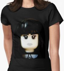 The Goth Girl is here Womens Fitted T-Shirt