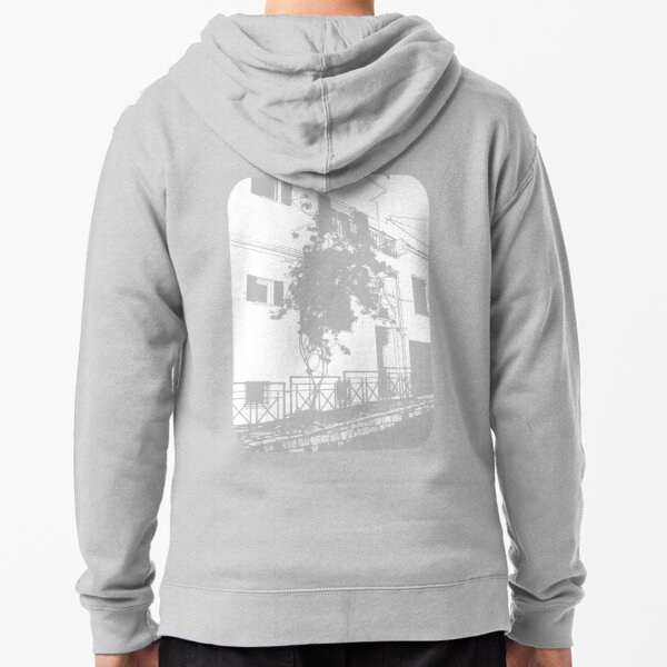 on the architect's table Zipped Hoodie