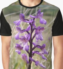 Wild memories in purple bloom Graphic T-Shirt