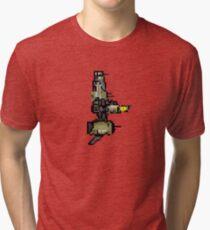 Derelict Scythe Ship Tri-blend T-Shirt