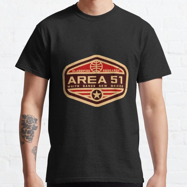 AREA 51 (RED) Classic T-Shirt