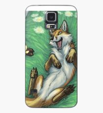 Playful foxes Case/Skin for Samsung Galaxy