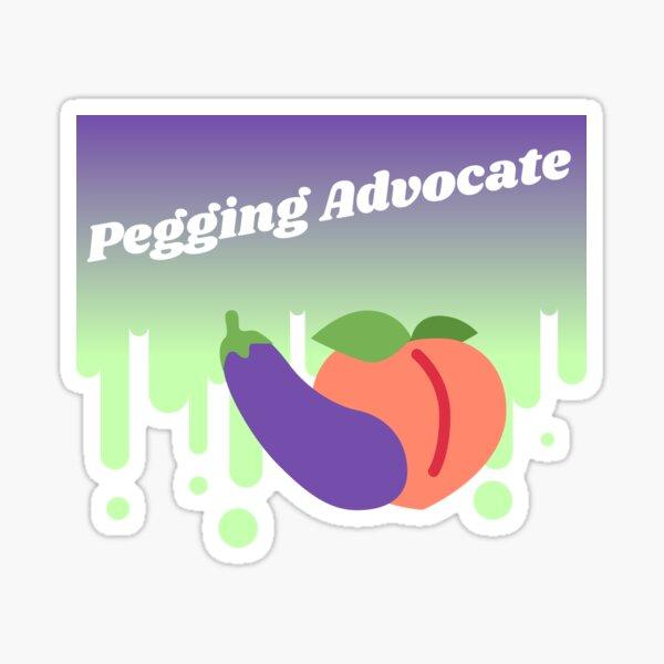 Pegging Advocate Sticker