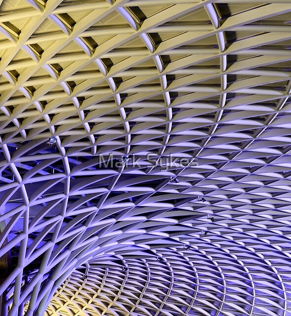King's Cross Station by Mark Sykes