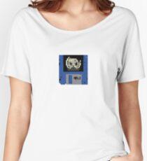 Derelict Disc Logo Women's Relaxed Fit T-Shirt