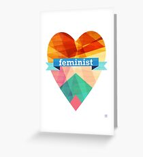 Feminist Greeting Card
