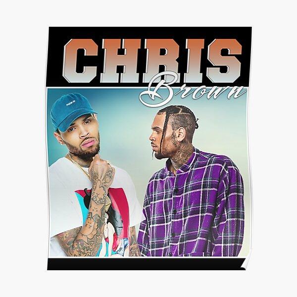 Chris Brown Wall Print Chris Brown Poster Chris Brown Wall Art Chris Brown Home Decor Chris Brown Watercolor Print