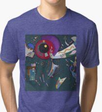 Kandinsky - Around The Circle Tri-blend T-Shirt