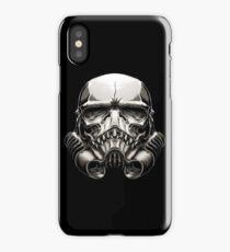 Skeleton Stormtrooper Helm iPhone Case/Skin