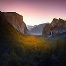 Last Light Yosemite by Kirk  Hille
