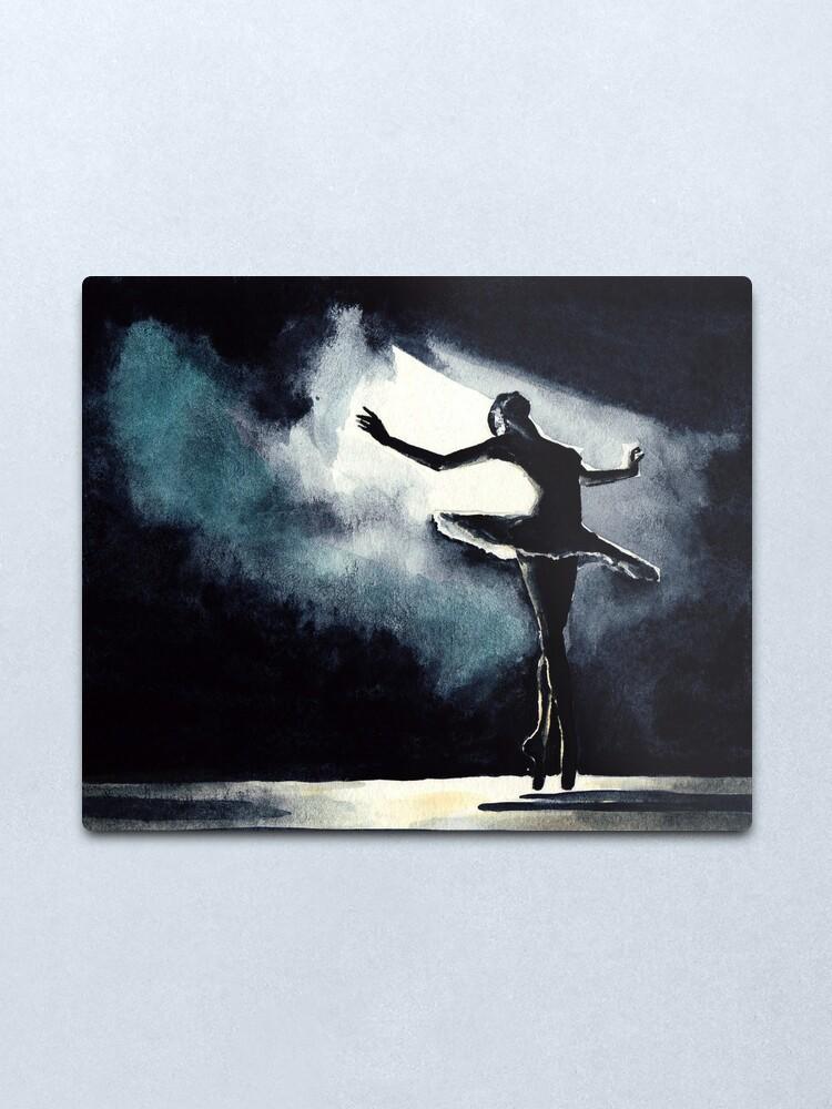 Alternate view of She dance Metal Print