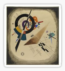 Kandinsky - Composition 1922  Sticker