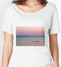 Swan River Perth Western Australia  Women's Relaxed Fit T-Shirt