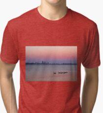 Swan River Perth Western Australia  Tri-blend T-Shirt