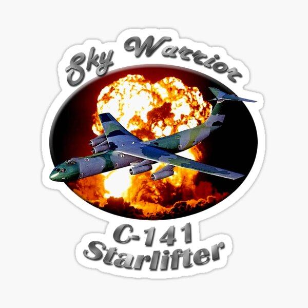 C-141 Starlifter Sky Warrior Sticker