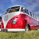 Shiny Red Camper by Vicki Spindler (VHS Photography)