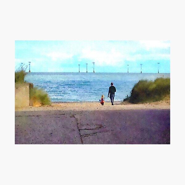 Coastal View At Cromer Photographic Print