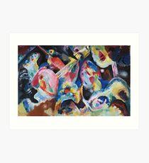 Kandinsky - Improvisation Deluge 1913  Art Print