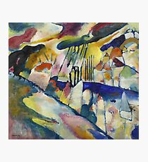 Kandinsky - Landscape With Rain Photographic Print
