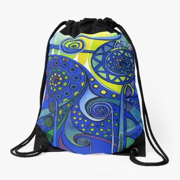AURORA BOREALIS Drawstring Bag
