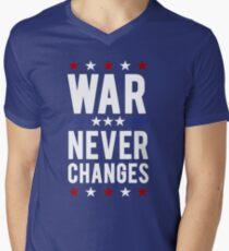 War Never Changes Men's V-Neck T-Shirt