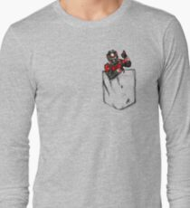 Ant Man in Pocket Long Sleeve T-Shirt