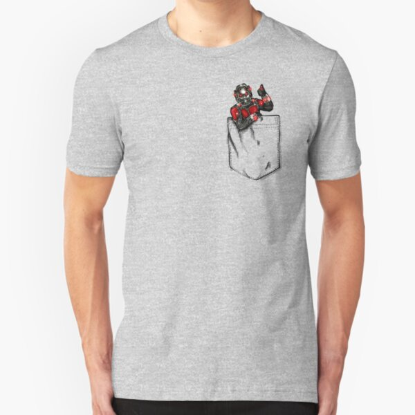 Ant Man in Pocket Slim Fit T-Shirt