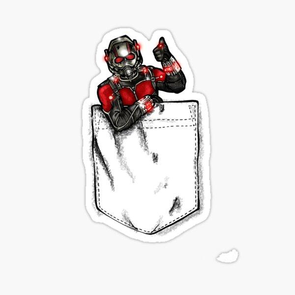 Ant Man in Pocket Sticker