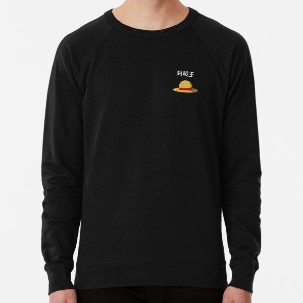 Straw Hat Graffic  One Piece  Lightweight Sweatshirt