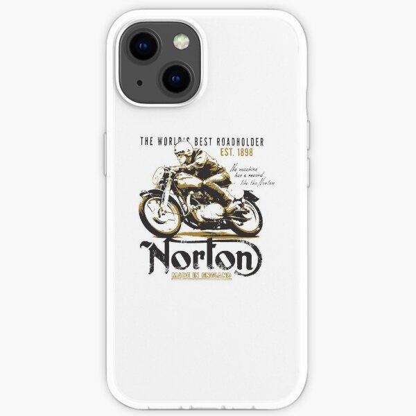 Moto vintage Norton Coque souple iPhone