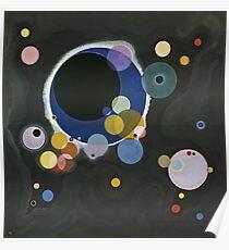 Kandinsky - Several Circles (Einige Kreise) Poster