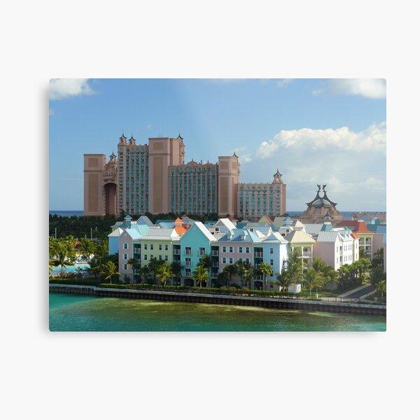 Bahamas Paradise Island view Metal Print