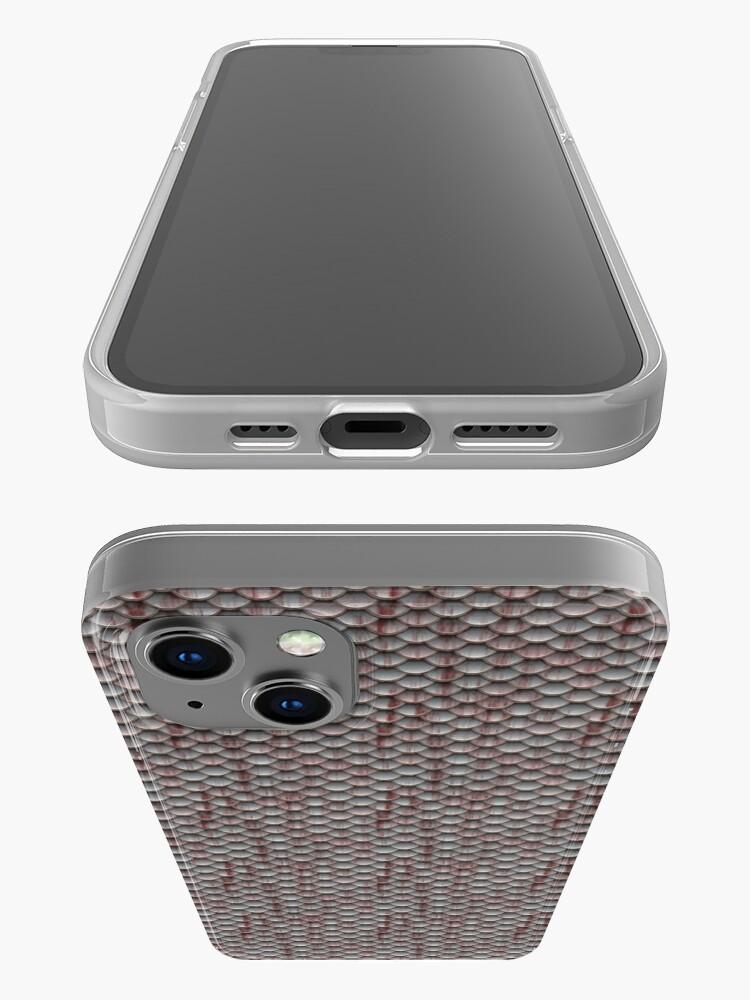 Alternate view of Dark Pink Armor  iPhone Case